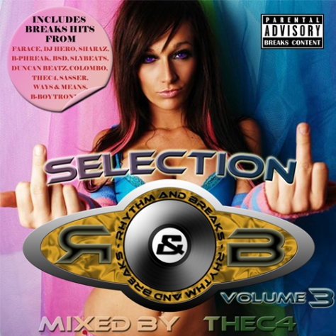 Rhythm & Breaks Selection 003 (25-11-2010) with thec4