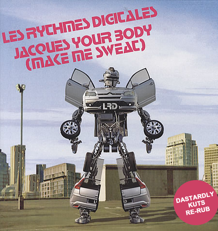 Les Rythmes Digitales - Jacques Your Body (Dastardly Kuts Re-Rub)