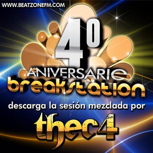 thec4 – 4º ANIVERSARIO BREAK STATION (Disco-Pub Cathedral – Montalbán)