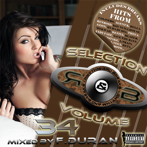 Rhythm & Breaks Selection 034 (09-02-2012) with F.Duran