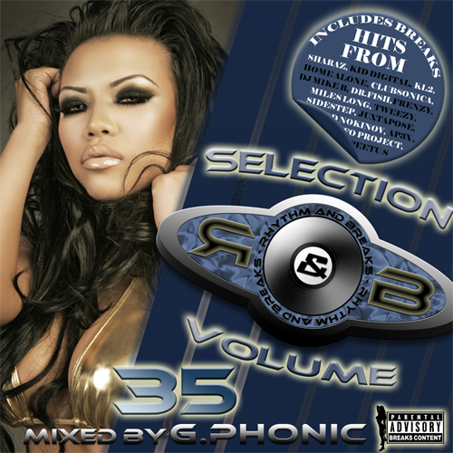 Rhythm & Breaks Selection 035 (23-02-2012) with G.Phonic