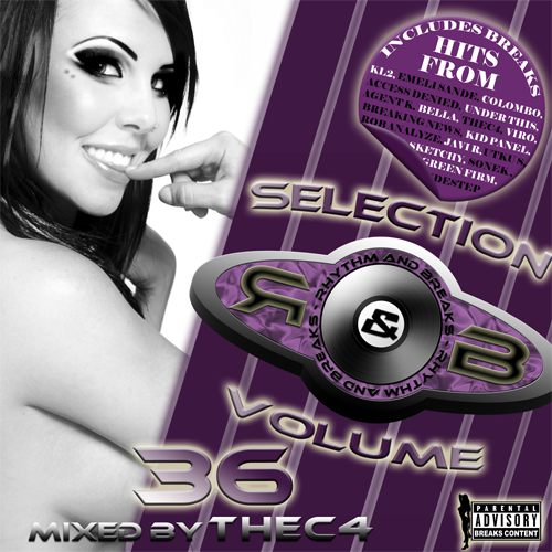 Rhythm & Breaks Selection 036 (08-03-2012) with thec4