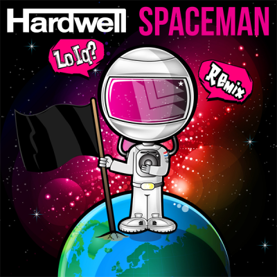 Hardwell - Spaceman (Lo IQ? Remix)