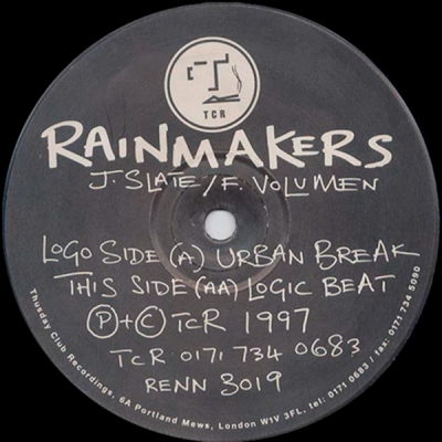 Rainmakers ‎– Urban Break