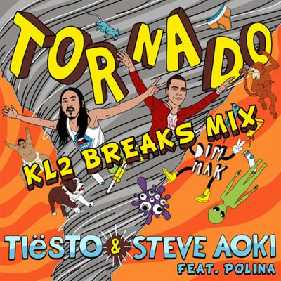 Tiesto Steve Aoki feat. Polina - Tornado (KL2 Breaks Mix)