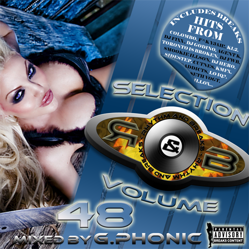 G.Phonic - Rhythm & Breaks Selection 048 (23-08-2012)