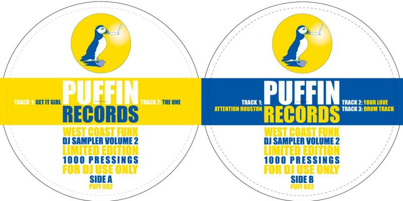 Huda Hudia & Tony Faline - West Coast Funk DJ Sampler Volume 2