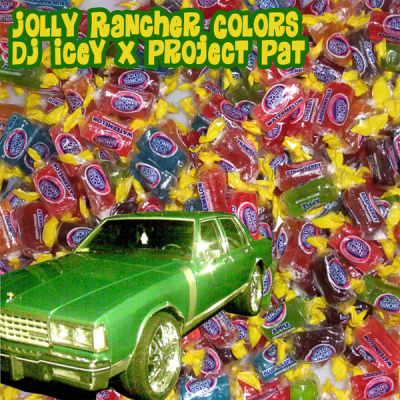 DJ Icey feat. Project Pat – Jolly Rancher Colors