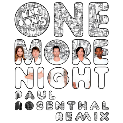 Maroon 5 - One More Night (Paul Rosenthal Remix)