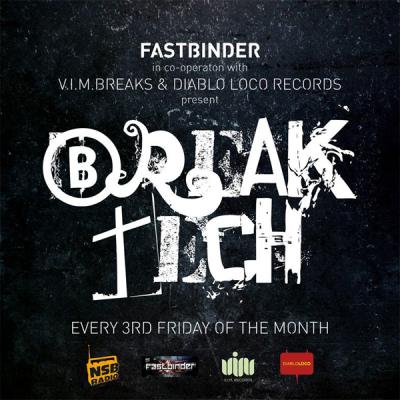 Fastbinder & Karl Sav with V.I.M.Breaks & Diablo Loco - BreakTech + Guest Mix: Kostas G [NSB Radio] (30-05-2014)