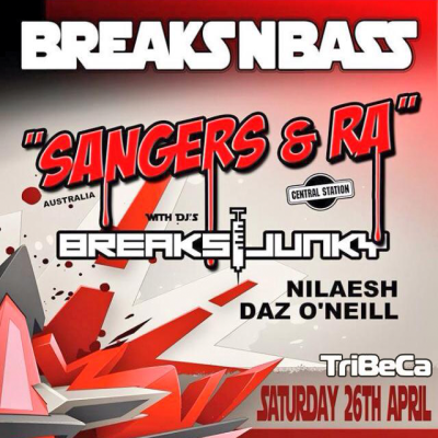 Breaksjunky - Breaks N Bass [Launch Night Set]