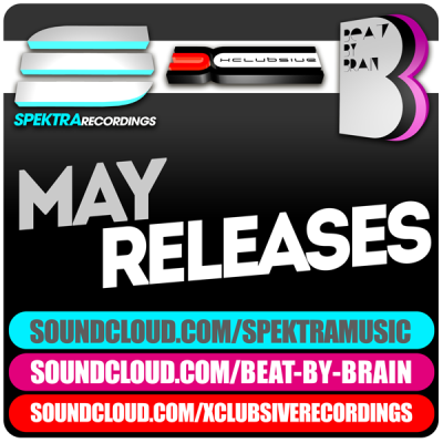 Spektra Music - May Releases [Mixed by DJ Fen]