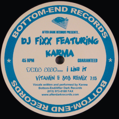 DJ Fixx - I Like It (Vitamin E 808 Remix)