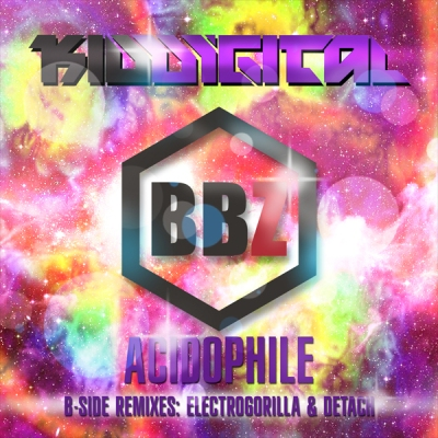 Kid Digital - Acidophile (B-Side Remixes ElectroGorilla & Detach)