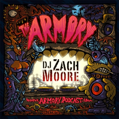 The Armory Podcast 105 - DJ Zach Moore