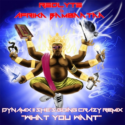 Afrika Bambaataa & RedLyte - Whatcha Want From Me (Dynamix II She's Going Crazy Remix)
