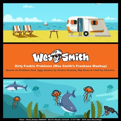 Ariana Grande feat. Iggy Azalea & Big Sean with Chuckie - Problem (Wes Smith's Freebass Mashup)