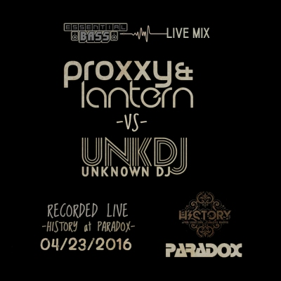 Proxxy & Lantern vs. Unknown DJ - Essential Bass Live Mix