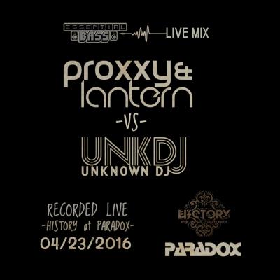 Proxxy & Lantern vs. Unknown DJ - Essential Bass Live Mix